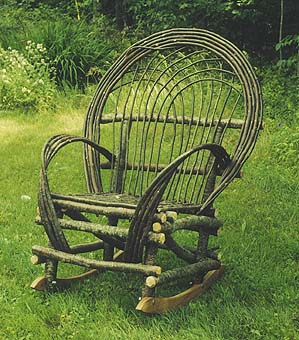 Exceptionnel Maine Twig Rocking Chair