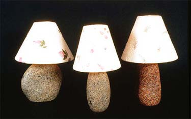 Solid Granite Lamp